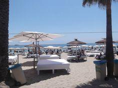 : Clubbing Capital of the World, #BoraBora beach, #Ibiza.