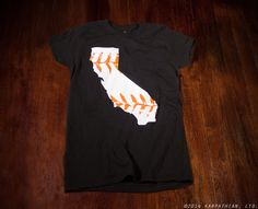 San Francisco Giants baseball Ladies junior fit tshirt by watatees