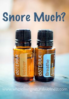 My husband snores..this is a must! Add Vetiver to the bottoms of the feet & breathe to the chest & back of neck. Dilute with coconut oil if necessary! #doTERRA #snoring