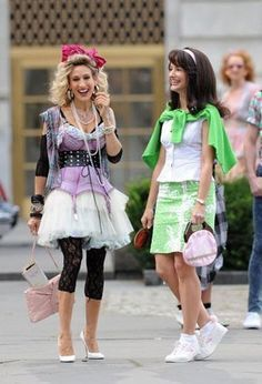 Moda anni 80, Charlotte e Carrie in Sex and the city 2