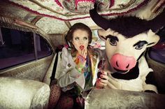 """Mary Had A Little Cow"" by Erik Le Strange, Plastik Magazine"