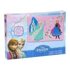 Disney Frozen Maak je eigen Vilt Kunstwerk