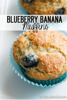 Have some bananas that are going south fast? Turn them into something amazing! Try this Blueberry Banana Muffins Recipe! Plus you can make them gluten free & dairy free bread cake healthy muffins pudding recipes chocolat plantain recette recette Banana Blueberry Muffins, Blueberry Recipes, Banana Recipes, Blue Berry Muffins, Banana Bread, Banana Pudding, Banana Fruit, Köstliche Desserts, Delicious Desserts