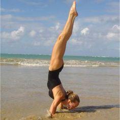 My yogini and life inspiration counselor, @darlenemarone