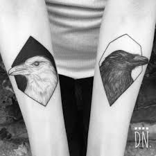 Image result for huginn and muninn tattoo