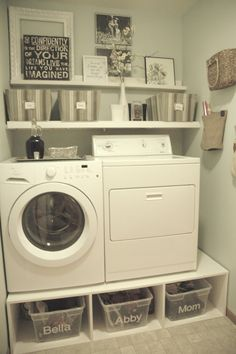 small-laundry-room-mud-room-makeover-with-pedestals-and-shelves-Tremendously-Thrifty.jpg 1,000×1,504 pixels