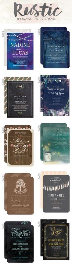 Rustic country wedding invitations / rustic wedding ideas / country wedding ideas #ad