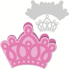 Silhouette Online Store: 'crown' card