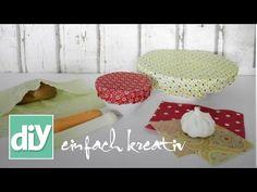 Bienenwachstuch | DIY einfach kreativ - YouTube