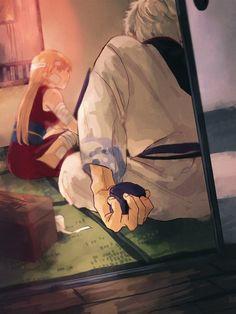Gintama, Manga Anime Girl, Okikagu, Anime Couples, Webtoon, Photo Wall, Fan Art, Comics, Drawings