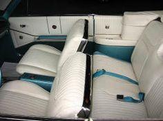 Rear Seat Area Of My 1964 Impala Ss Note The 39 Tuxedo