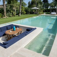 Building A Swimming Pool, Luxury Swimming Pools, Luxury Pools, Swimming Pools Backyard, Dream Pools, Swimming Pool Designs, Pool Landscaping, Small Backyard Design, Small Backyard Pools