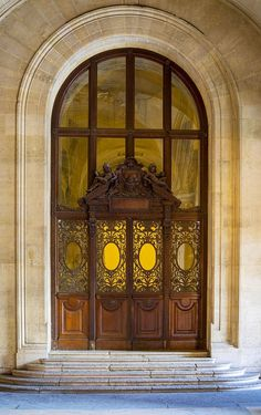 From a time when doors were art. Why settle for a ordinary entrance? Leodowellinteriors.com