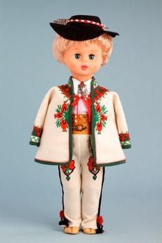 DreamWorld Collections Highlander Boy (Goral) - 18 Inch Collectible Regional Doll : Regional Dolls