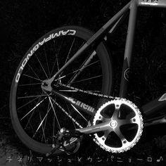 おはようございます。 今日も☂。 #cinelli #crecord #campagnolo #cinellimash #fixedgear #fixedgram #fixedporn #f#bicycle #bikeporn #keirin #kashimax #njs #競輪 固定ギア #trackbike #singlespeed #ig_bike #instapic #pist...
