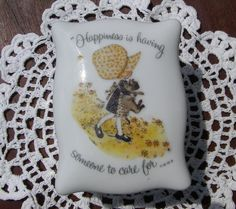 An adorable Holly Hobbie trinket box Holly Hobbie Pinterest