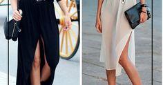 Ideias incríveis de como usar um vestido longo