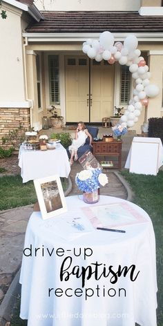 Quarantine LDS Baptism. Our experience planning a baptism for our daughter to become a member of the Church of Jesus Christ of Latter-day Saints. Drive-by reception in our front yard. #lds #baptism