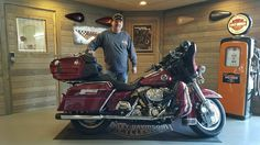 Congratulations Mark on your purchase of a 2005 Ultra Classic from me here at Harley Davidson of Kokomo.