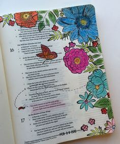 """... Bible art journaling - by Linda Neal - """"You make known to me the path ..."""