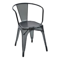 Tolix perforated chair