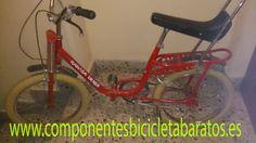 """Bicicleta derbi rabassa muy """" motoretta """". Propiedad de componentes bicicleta baratos en Zaragoza."""