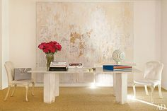 Inside Aerin Lauder's Chic NYC Offices | Brunch at Saks