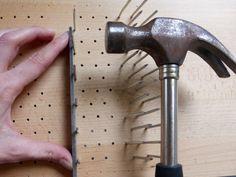DIY wool picker
