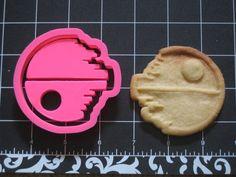 Death Star Cookie Cutter Stamp Set Star Wars Pink BPA FREE   Unique Cookie Cutters