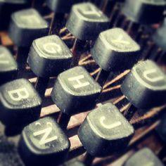 Typemachine toetsen