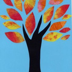 Coffee Filter Tree Leaves