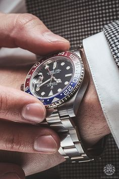 watchanish:  Rolex Oyster GMT Master-II 116719BLRO.Read the full article on WatchAnish.com.