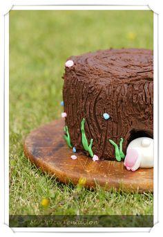 Mi dulce tentación: Tarta Tronco de Árbol