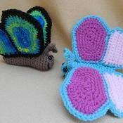 Flitter by Butterfly Amigurumi Pattern - via @Craftsy