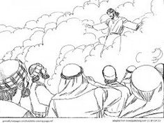 Jesus Transfiguration coloring page from Jesus Mission Period ...