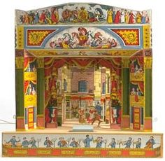 Make a Toy Theatre from the museum of childhood--PDF download