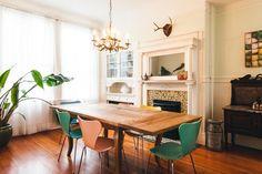 In San Francisco, Decorating In, Around, and Through Literature | Design*Sponge #diningroom