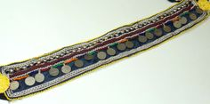 vintage afgani coin belt handmade bell dance coin by Banjaraarts