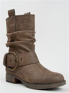 Madden Girl ABLEE Slouchy Western Bootie | Shop Madden Girl Shoes