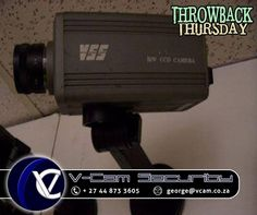 #ThrowBackThursday - The YSS CCD camera was one of the first live CCTV cameras, established in the 1980-90's #VCAM #CCTV