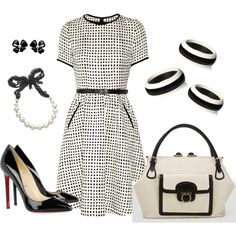 Black and White- so very chanel inspired.... love it