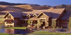 Bozeman Luxury Homes in Green Hills Ranch, south of Bozeman, Montana in the Gallatin Mountain foothills.
