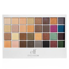 "E.L.F. Studio Beauty School 32-Piece Eyeshadow Palette in ""Jet Setter."""