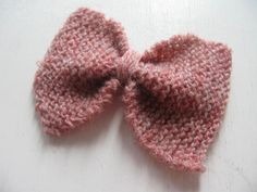 A personal favorite from my Etsy shop https://www.etsy.com/listing/260168183/pink-wool-bow-barrette