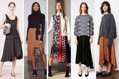 Pre-Fall 2016: the 12 Biggest Trends - Fashionista. Asymmetrical hems.
