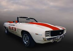 "1969 Chevrolet Camaro SS ""Official"" Pace Car of the Indianapolis 500"