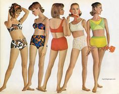 Swimsuits by Rose Marie Reid, 1964