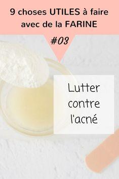 Vous avez des boutons? Essayez d'appliquer une pâte à base de miel avec un peu de farine sur vos boutons.Couvrez ensuite la pâte avec un pansement et laissez reposer toute la nuit pour que la magie opère. Au petit matin, rincer la zone.Le bouton doit être sensiblement plus petit, grâce à l'action curative du miel et de la farine !