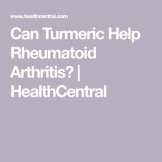 Many people with rheumatoid arthritis claim turmeric helps their symptoms. Learn more about turmeric's anti-inflammatory claims, whether there is any truth behind them, and how you can try it for your Yoga For Arthritis, Knee Arthritis, Types Of Arthritis, Arthritis Remedies, Arthritis Symptoms, Psoriatic Arthritis, Turmeric Anti Inflammatory