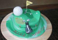 Golf Field Cake | Wisha's Cakes